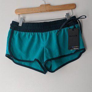 Hurley Phantom Beachrider Shorts Teal Navy Size XS